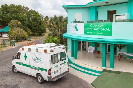 A clinic in the resort town of Varadero