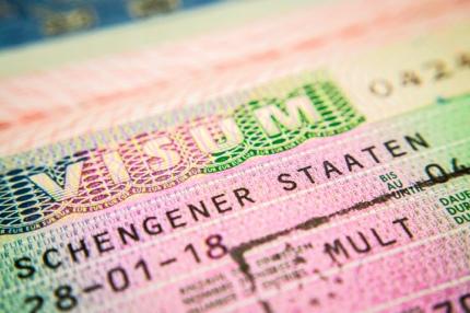 A Schengen visa example