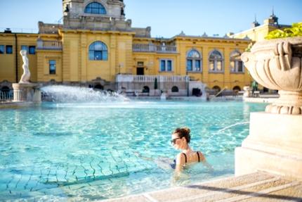 Szechenyi Baths, Hungary