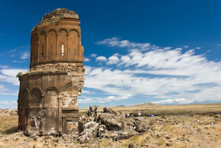 The ruins of Church of the Redeemer, Ani