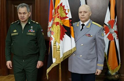 Igor Korobov (L) and Sergey Shoygu (R) © licensed under CC BY-4.0