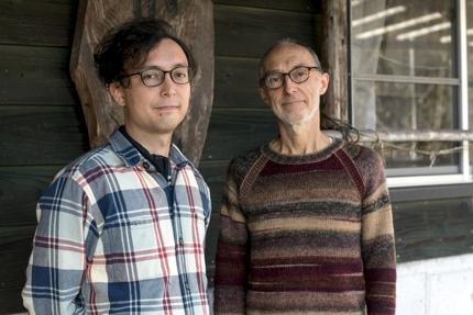 Rogier Uitenboogaart and his son Yohei