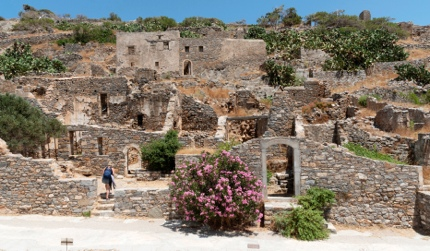 The ruins on Spinalonga