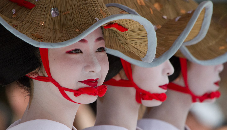 Apprentice Geisha at Gion Matsuri