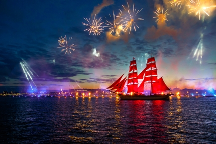 The Scarlet Sails