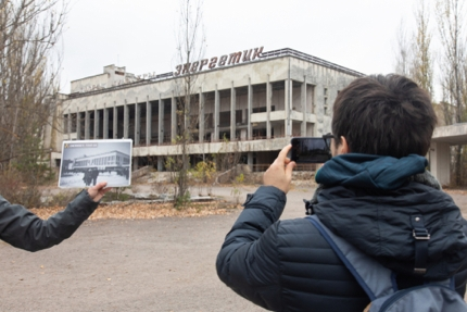 On a guided tour of Pripyat