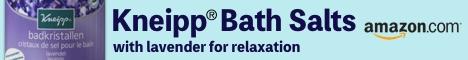 Kneipp Bath Salts Link to Amazon