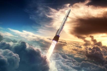 New Glenn, Blue Origin's orbital rocket ©blueorigin.com