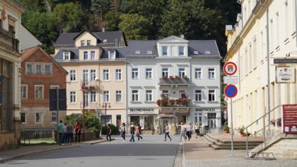 Bad Schandau, another spa town
