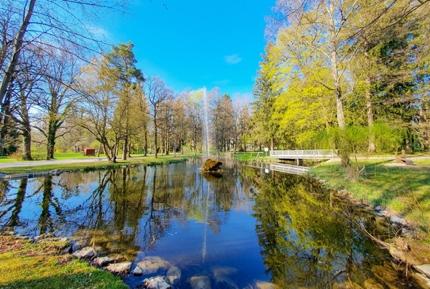 A park in Bad Wörishofen