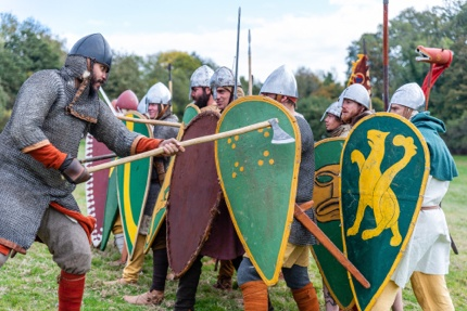 The Battle of Hastings re-enactment