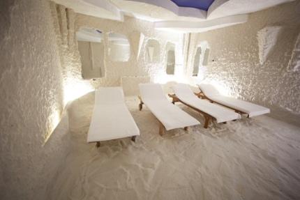 A salt room