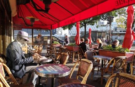A quieter café culture in Batignolles