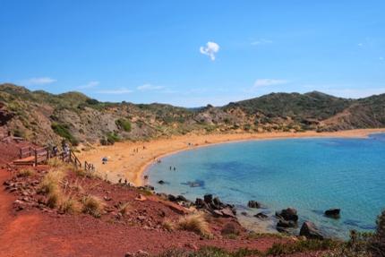 Cavalleria Beach, Spain
